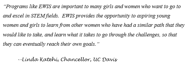 Katehi quote about EWIS